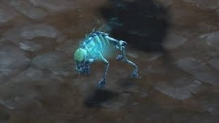 Spectral Hound minion in action