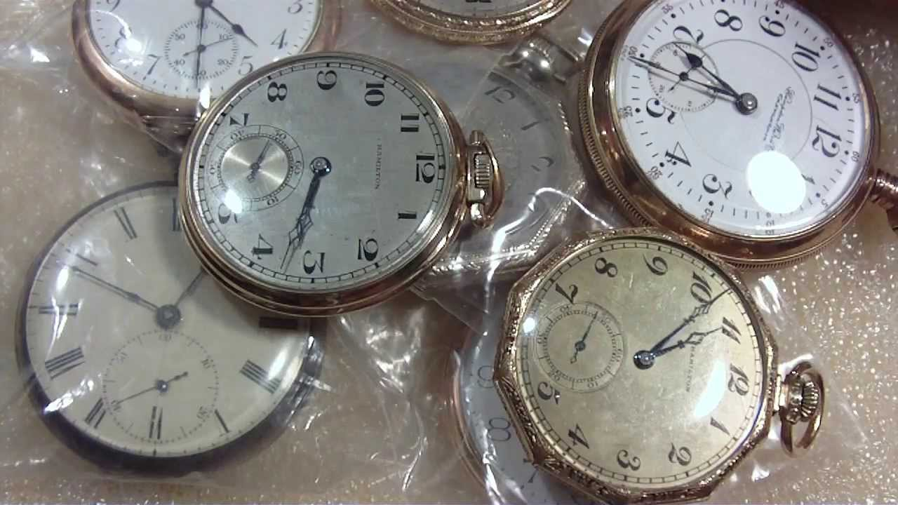 How To Open Up A Pocket Watch Case Screw On And Snap On