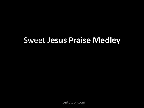Sweet Jesus Praise Medley Worship Video w/ Lyrics Reggae Gospel