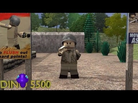 Lego Call of Duty - Training