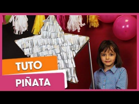 Anniversaire Pinata Facile I Citizenkid Com Youtube