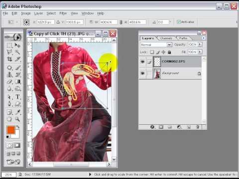 Photoshop CS2 - Phần 6 - Bài 1 - Tạo Bo Viền