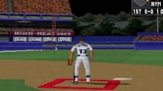 High Heat Major League Baseball 2002  ~ PS1 PlayStation