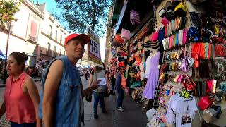 ⁴ᴷ⁶⁰ Walking Mexico City CDMX : Centro Histórico via Calle del Carmen and Corregidora