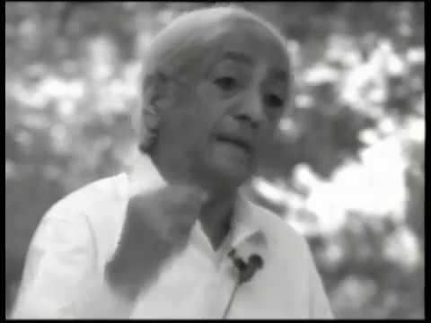 J. Krishnamurti - Ojai 1979 - Public Talk 4 - The art of observing the book of mankind
