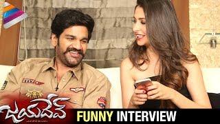 Jayadev Movie Team Funny Interview | Ganta Ravi Cracks Jokes on Malvika Raaj | Mani Sharma