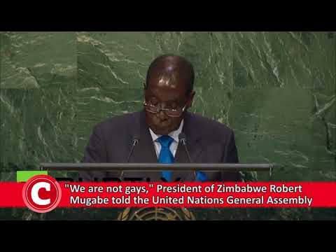 WATCH: Five of Mugabe's most shocking speeches