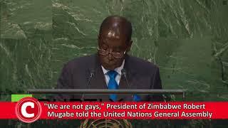 WATCH: Five of Mugabe's most shocking speeches