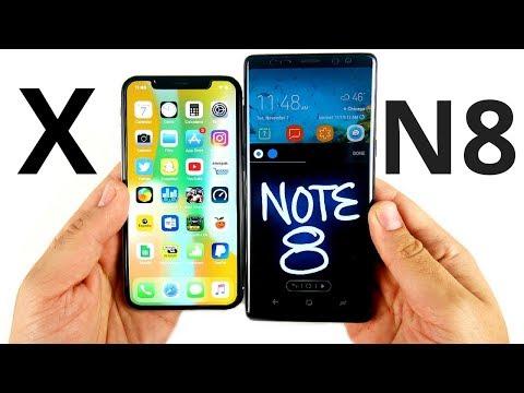 iPhone X vs Note 8: Full Comparison