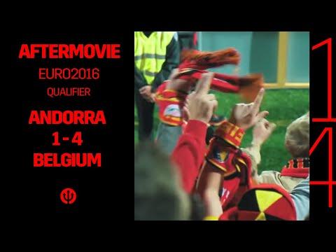 #TousEnFrance | Andorra - Belgium, The Aftermovie