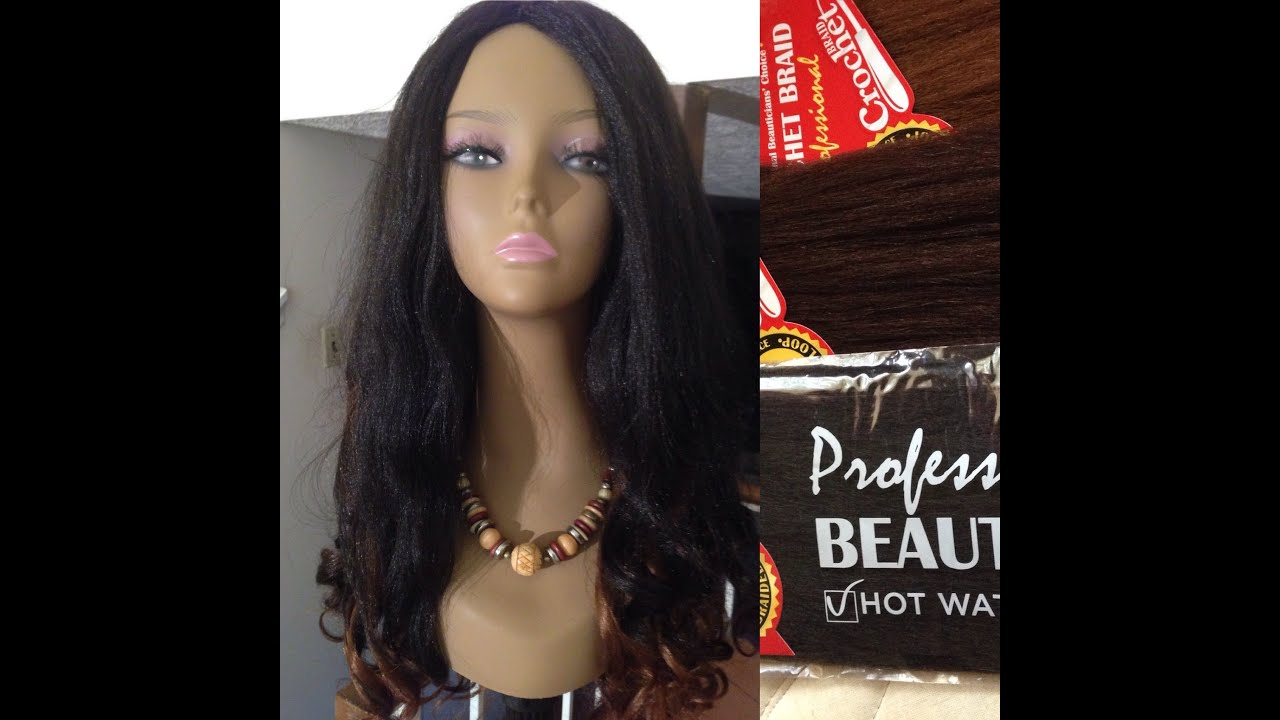 Harlem 125 Kima Volum Braided Pre Loop Crochet Wig + Magic Body