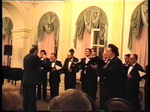 Moscow Male Jewish Cappella, Concert at the Russian Cultural Foundation, 1998 - Hasidic Cappella