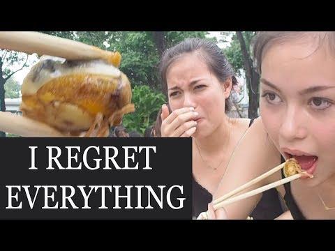 EATING A DISGUSTING EMBRYO | Trying Vietnamese Street Food.