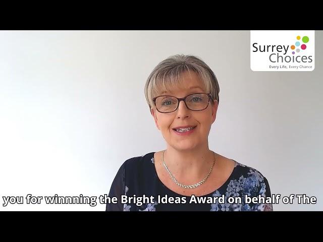 Recognising you: Nikki Rutter - Bright Ideas Award 2021