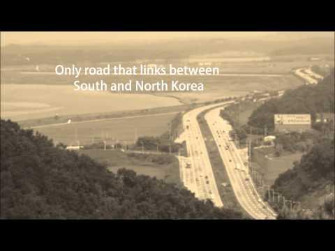 Korean DMZ - A road to the Korean Demilitarized Zone (HD) 1080p