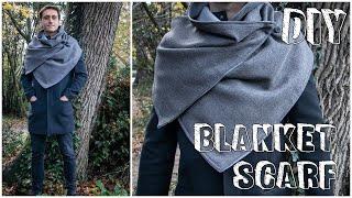 DIY Blanket Scarf l Gulsen Des…
