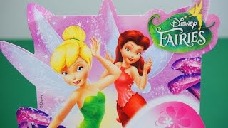 2 Kinder Surprise EGGs Disney Fairies Zarina Klara