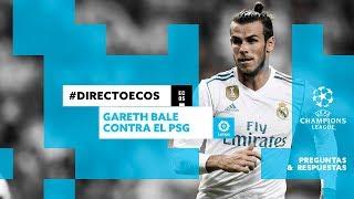 Gareth Bale contra el PSG