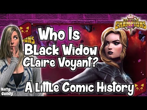Who Is Black Widow Claire Voyant Marvel Contest Of