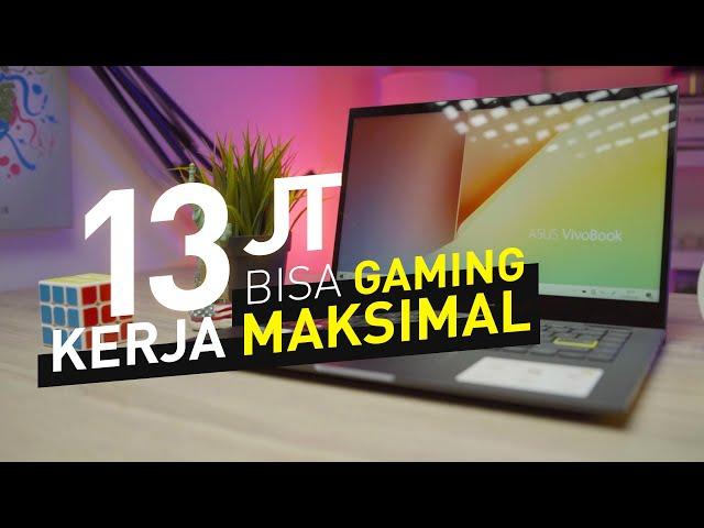 Laptop Kerja RASA Laptop GAMING !!! | Review Asus VivoBook Flip 14 TP470