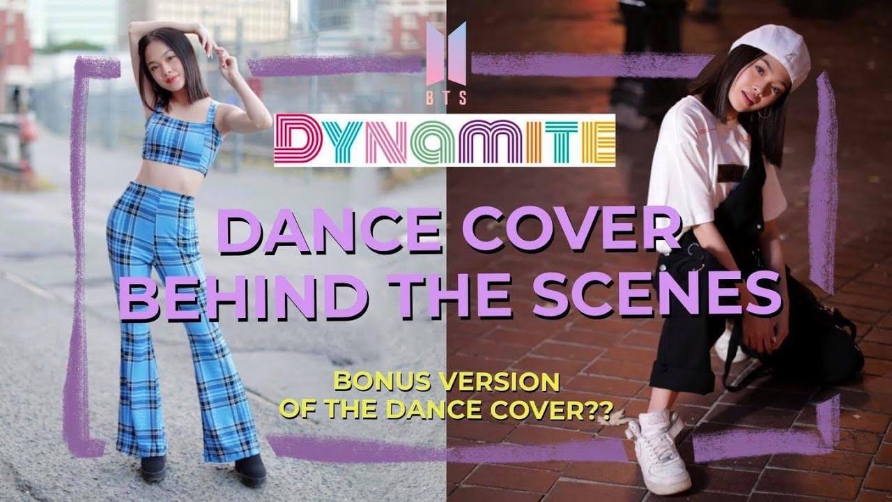 BTS (방탄소년단) - 'DYNAMITE' Dance Cover Behind the Scenes // Andree Bonifacio