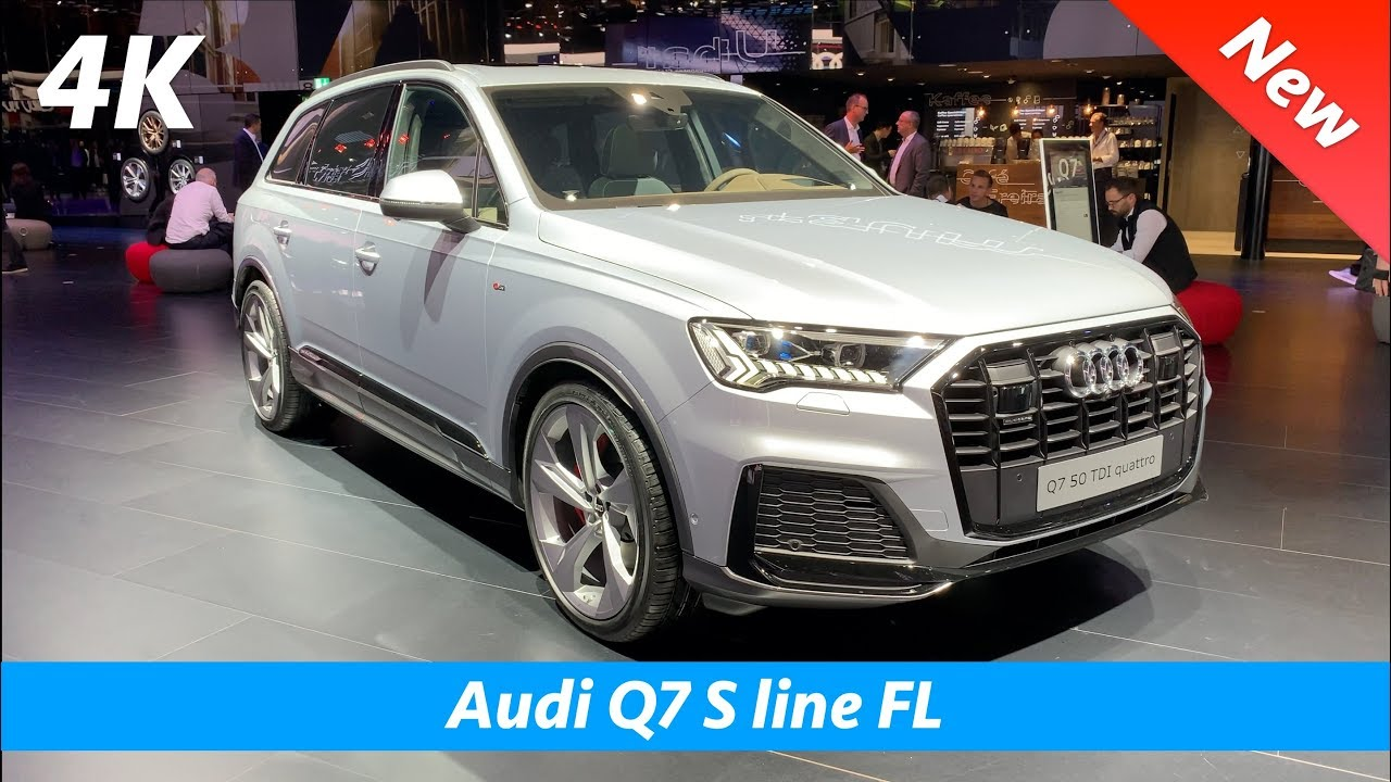 Audi Q7 S Line 2020 First Look In 4k Interior Exterior Facelift Youtube