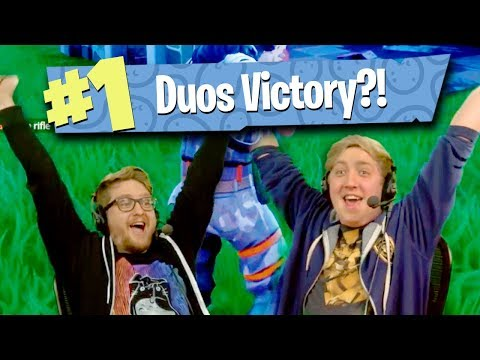POTATO AIM DUOS VICTORY?! - Fornite: Battle Royale