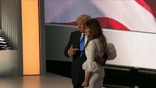 Жену Дональда Трампа уличили в агитации за выдвижение мужа кандидатом в президенты чужими словами.