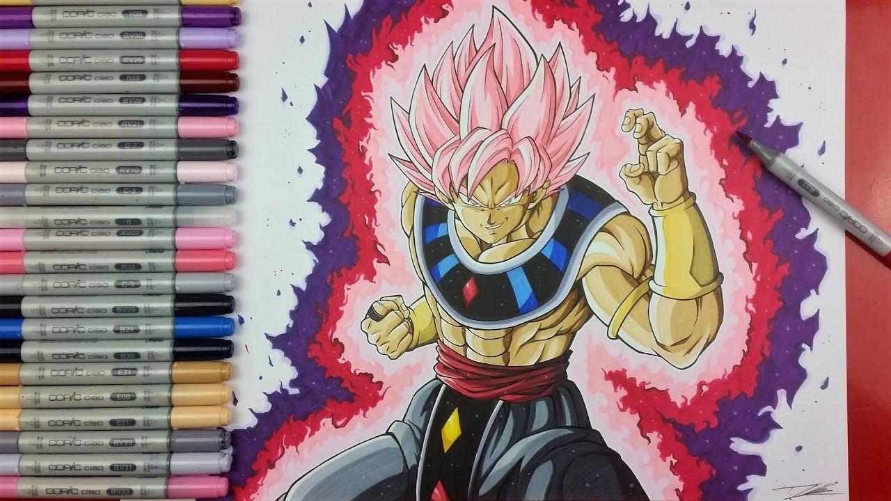 Cool Girl Saiyan Wallpaper Drawing Goku Black Ssj Rose God Of Destruction Tolgart