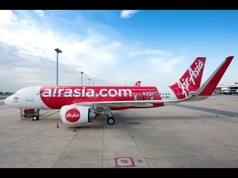 นั่งเครื่องบินแอร์เอเชีย Airasia จากสนามบินดอนเมือง ชมวิวมุมสูง สนามบินกระบี่