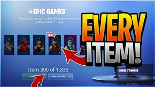 How to have all the skins of Fortnite 😱( HXD Tutorial)