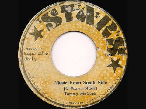 "TOMMY McCOOK - 'Music From South Side' - JA Stars 7"" 197?"