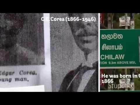 C.E.Corea of Chilaw - National Hero of Sri Lanka