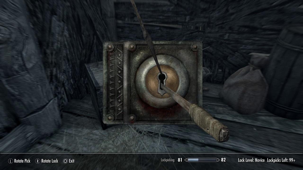 Skyrim remastered, treasure map 7, location: liars post