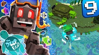 Minecraft The Deep End SMP - Time to spice up our broomstick. Serve...