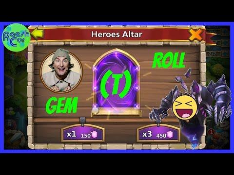 Gem (T)Roll ➤ Einfacher Trick Zu Legendären Helden? ಠ Castle Clash Schloss Konflikt [Deutsch]