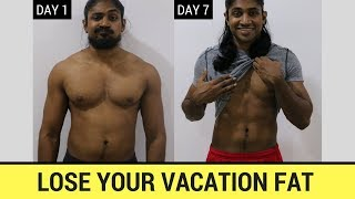 Lose Your Vacation Fat - Bodybuilding - Sinhala