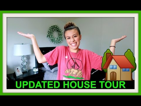 UPDATED HOUSE TOUR! | TRACK MEET!