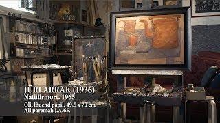 JÜRI ARRAK. NATÜÜRMORT. 1965