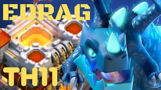 TH11 CWL EDRAG 2019 ! ELECTRO DRAGON 3 STAR STRATEGY TH11 / Clash of clans electro dragon th11