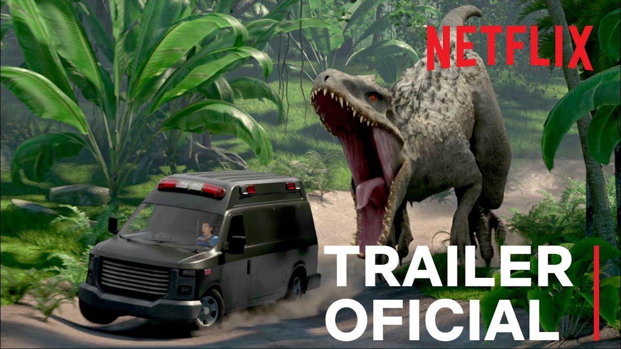 Jurassic World: Acampamento Jurássico | Trailer oficial | Netflix