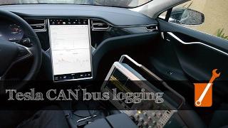Tesla CAN bus data logging