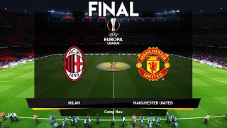 This video is the gameplay of manchester united vs ac milan - final uefa europa league 2021my second channel https://www./channel/ucus9...instag...