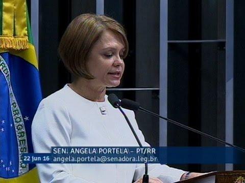 Ângela Portela analisa projeto com medidas de combate aos crimes praticados pela internet