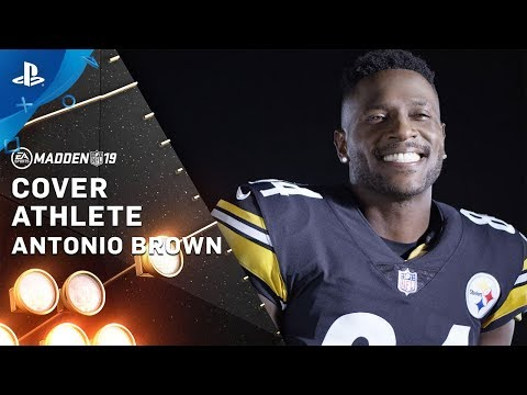 Madden NFL 19 – Antonio Brown Cover Athlete | PS4
