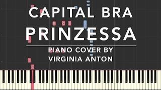 Capital Bra Prinzessa Piano Cover Tutorial Synthesia