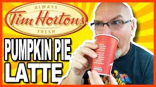 Tim Horton's Pumpkin Pie Latte - Thirsty Thursdays (feat. Ken Domik)