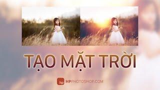 Tạo mặt trời trong photoshop | HPphotoshop.com