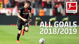 Kai Havertz - All Goals 2018/19