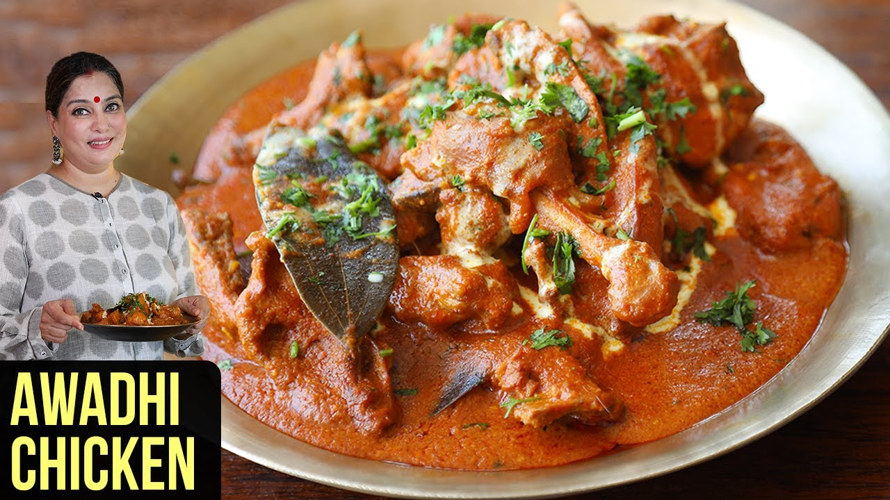Awadhi Chicken Recipe | How To Make Chicken Awadhi Korma | Chicken Curry Recipe By Smita Deo